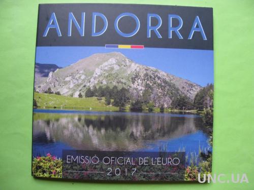 Андорра официальный набор евро монет 2017 г.