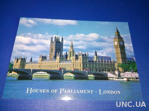 LONDON. The Houses of Parliament (чистая)