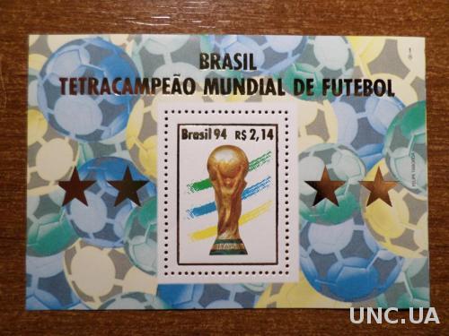 Бразилия ЧМ футбол КЦ=8евро 1994