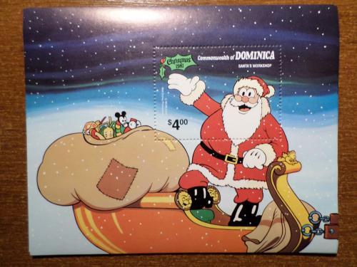 Доминика рождество КЦ=6евро 1981 мультики