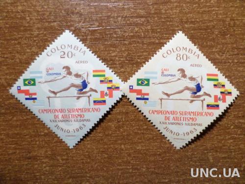 Колумбия спорт КЦ=0,6м 1963