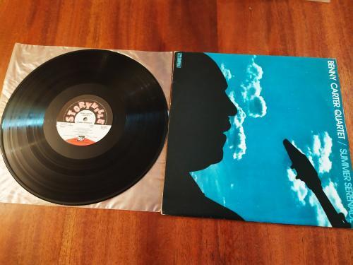 LP Benny Carter Quartet Summer Serenade Югославия