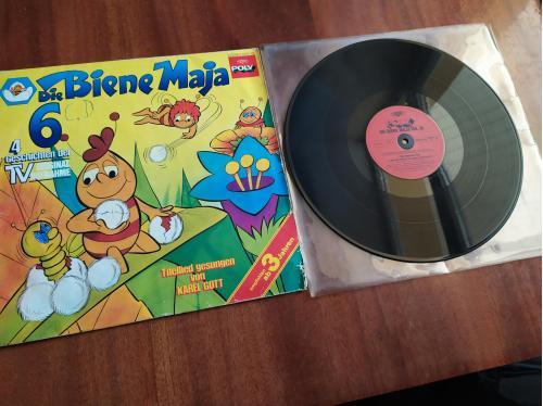 LP Die Biene Maja 6 Karel Gott пчела Майя