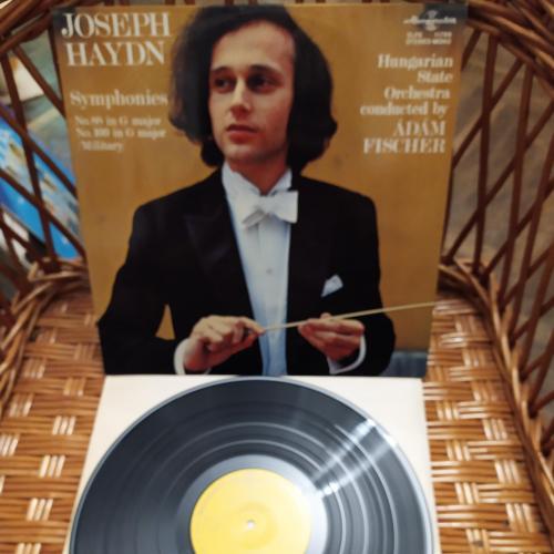 LP Гайдн Joseph Haydn - Hungarian State Orchestra Adam Fischer Symphonies No. 88 ламинат венгрия