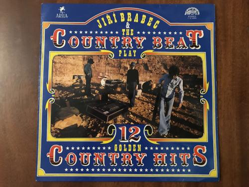 LP Jiří Brabec & The Country Beat*  12 Golden Country Hits
