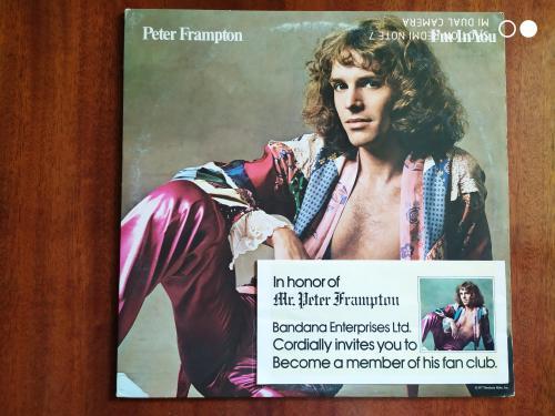 LP PETER FRAMPTON Frampton's Camel Humble Pie I'm In You OIS