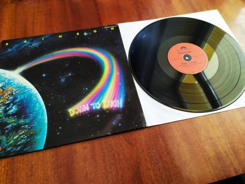 LP Rainbow  Down To Earth Германия