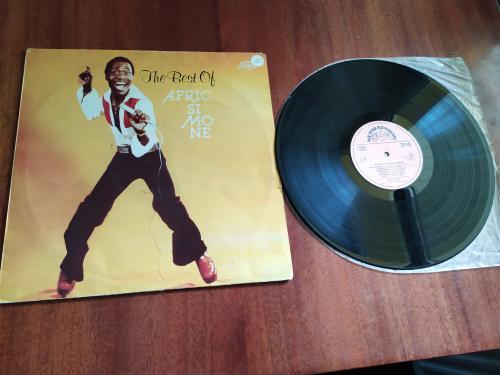 LP The best of Afric Simone Чехословакия