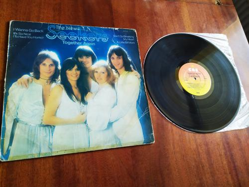 LP The New Seekers  Together Again Англия