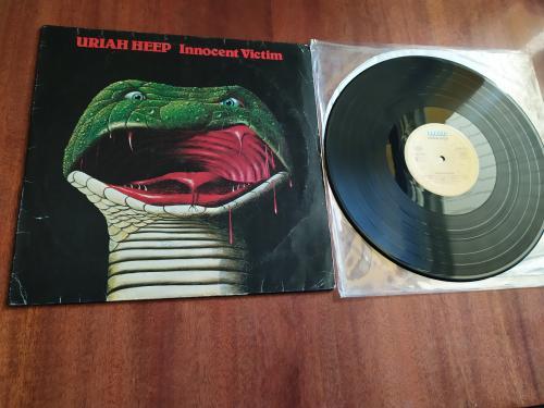 LP Uriah Heep  Innocent victim Германия