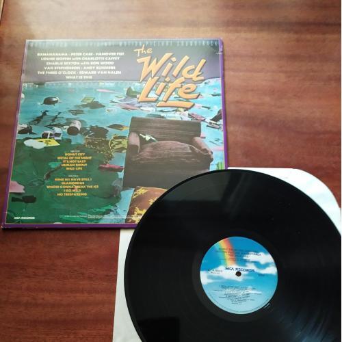 LP wild life ( bananarama, charlie sexton, andy summers, van halen) збірник us сша