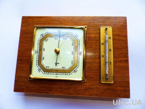 Барометр, термометр,- Германия 1960-х гг - fischer =