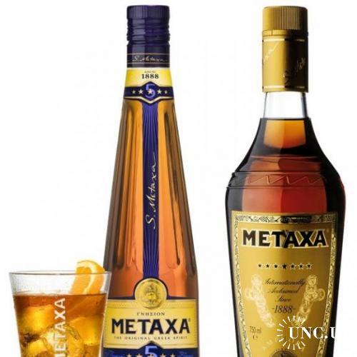 бокал брендовый - Бренди Metaxa  Метакса