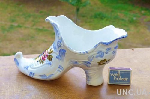 БОЛЬШАЯ Туфелька - италия - 26 см х 15 см -