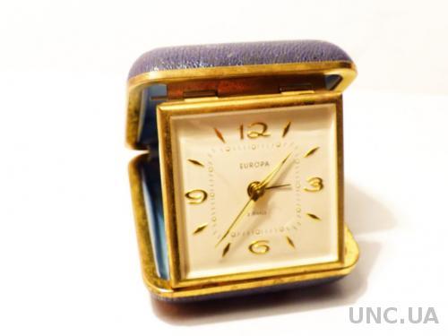 Часы Будильник дорожный  - Europa ----- XXX