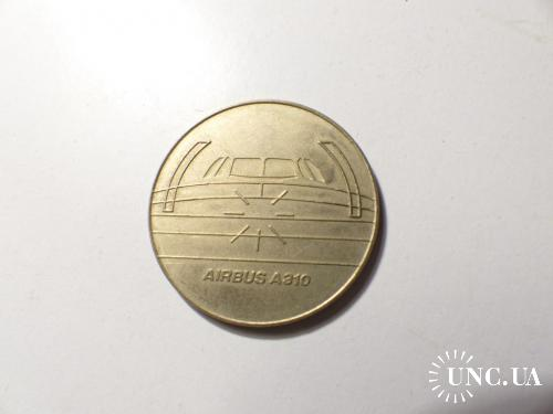 медаль   CONDOR AIRBUS A310 •Ø 35 Mm 14 Gr.