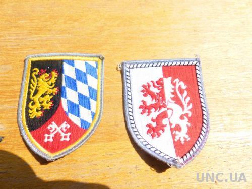 Нашивки 2 шт - германия -