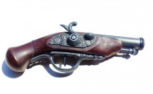 пистолет дуэльный - Германия - пистоль 23,5 см -