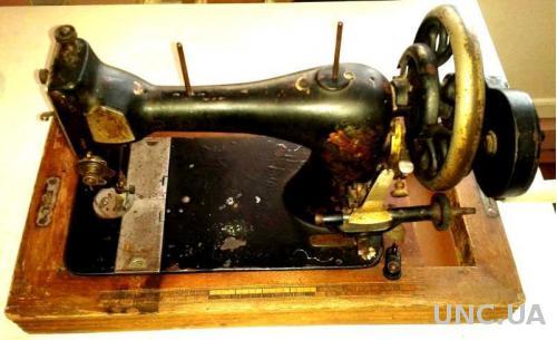 Швейная машинка kohler-schwingschiff maschine - антиквариат -  рабочая -