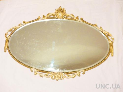 ЗЕРКАЛО - Англия - 66 х 46 см  - Rococo style mirror by 'Reflectwell' -