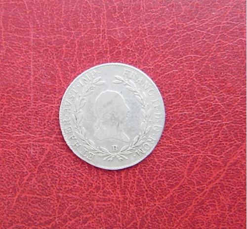 Австрия 20 крейцеров 1806 B. Франц II. Кремница