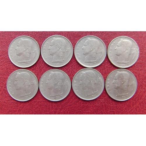 Бельгия 1 франк 1950 - 1959 'BELGIQUE' см.прим.