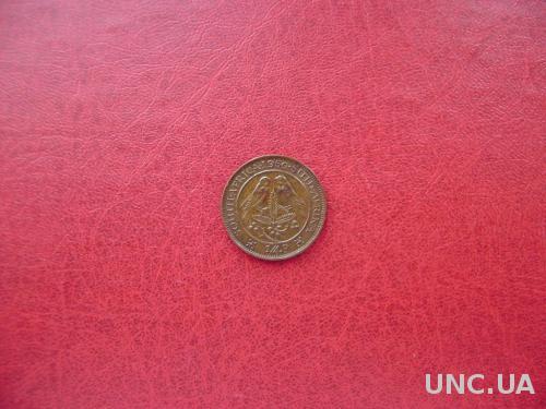 Британская Южная Африка (ЮАР) 1/4 пенни 1950