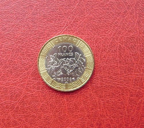 Центрально - Африканские Штаты 100 франков 2006 UNC.