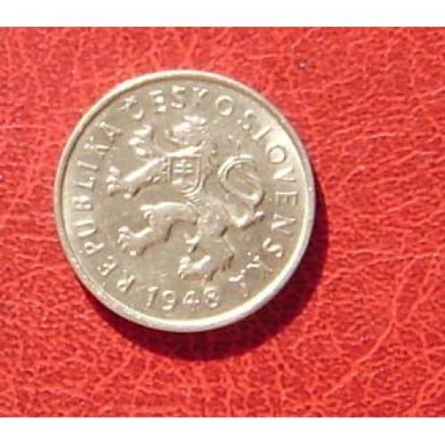 Чехословакия 2 кроны 1948. 3
