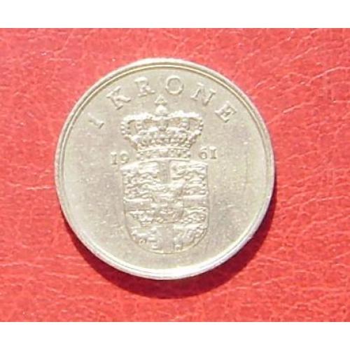 Дания 1 крона 1961