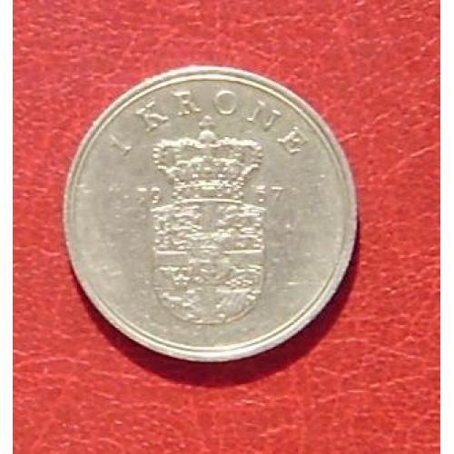 Дания 1 крона 1967