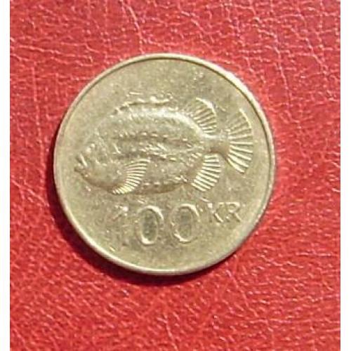 Исландия 100 крон 2006