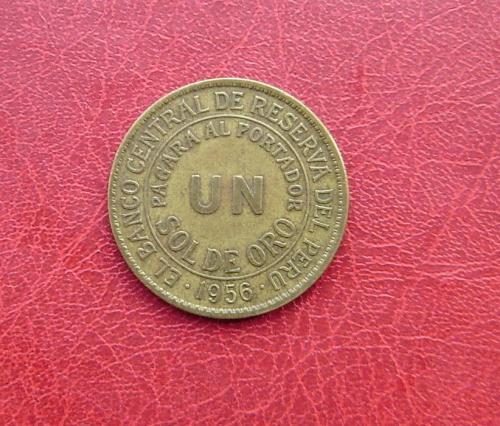 Перу 1 соль 1956