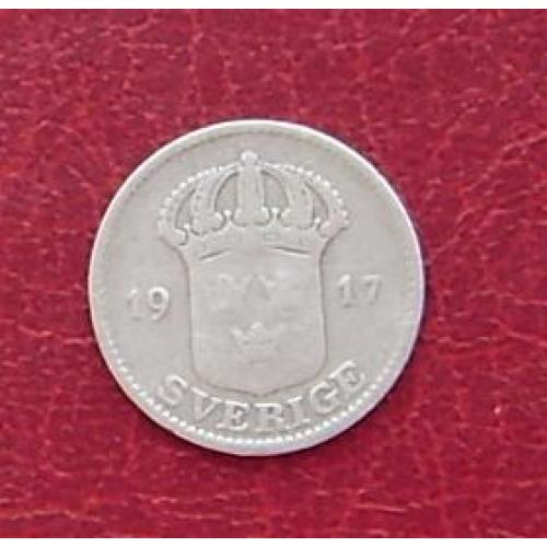 Швеция 25 эре 1917