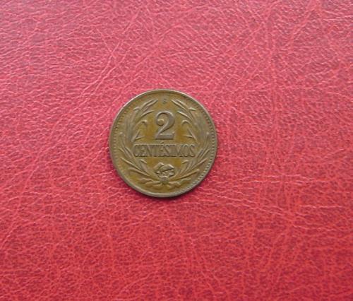 Уругвай 2 сентесимо 1948