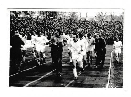 Фотография 1983 Футбол, спорт, Днепр РАРИТЕТ
