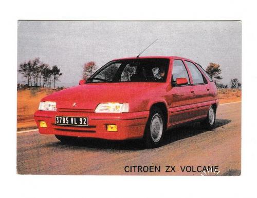 Календарик 1993 Авто, пресса, Citroen