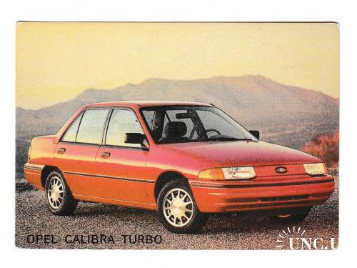 Календарик 1993 Авто, пресса, Opel