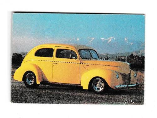 Календарик 1994 Авто, ретро, РЕДКИЙ
