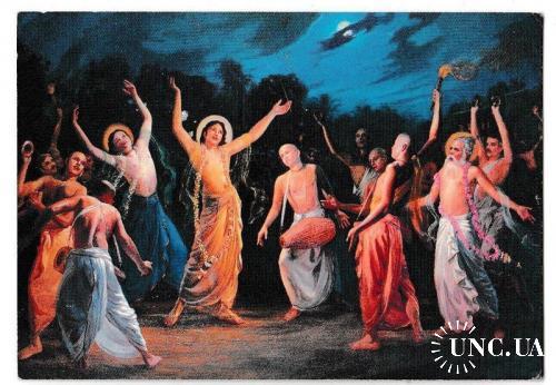 Календарик 2002 Религия, Кришна