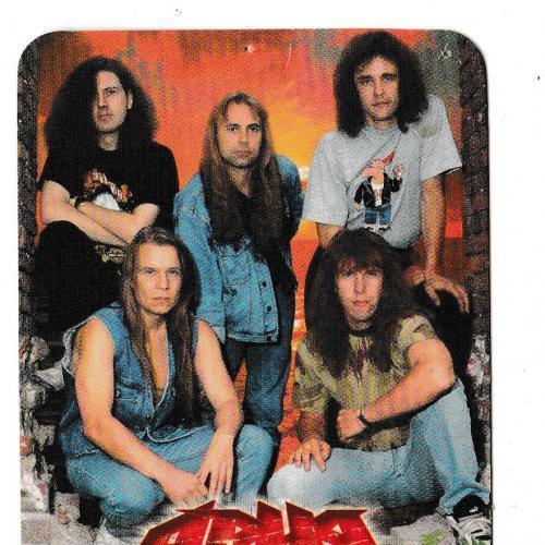Календарик 2004 Ария, рок, Heavy Metal