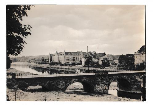 Открытка 1968 Grimma, Muldenbrucke, Германия
