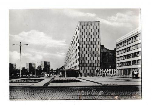 Открытка 1972 Dessau, Scheibe Nord, Германия