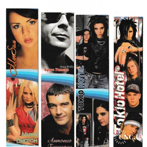 Закладки Кино, Музыка, Tokio Hotel, Брюс Уиллис, Мика Ньютон, Антонио Бандерас