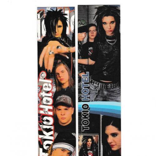 Закладки, таблица умножения, Музыка, рок, Tokio Hotel