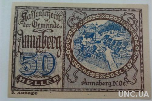 Нотгельд Австрия ANNABERG