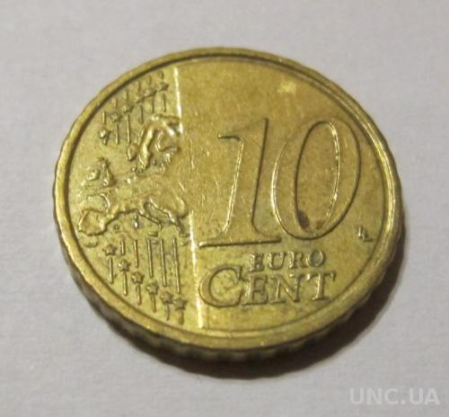 Словакия 10 евро центов 2009