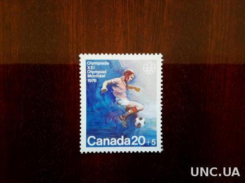 Канада 1976 Футбол Олимпиада Олимпийские игры ЛОИ Монреаль-1976 спорт MNH **