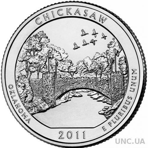 25 центов США Оклахома, Рекреационная зона Чикасо 2011 г.