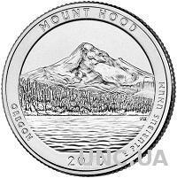 25 центов США Орегон,  лес Маунд Худ 2010 г.